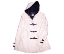 Mantel Wolle Weiß
