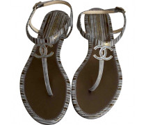 Leder flip-flops