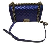 Second Hand ChanelBoy Lackleder Handtaschen