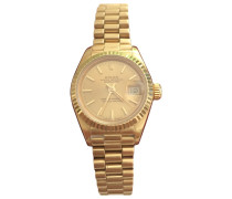 Second Hand DateJust Lady Gelbgold Uhren