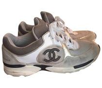 Second Hand ChanelLeinen Sneakers