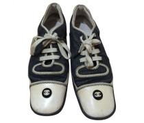 Sneakers Leder Blau