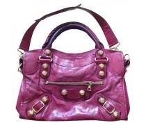 Second Hand City Leder handtaschen