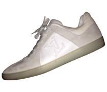 Sneakers Leder Weiß