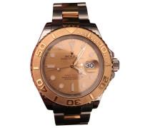 Second Hand Uhr Yacht-Master Gold und stahl