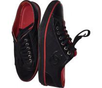 Sneakers Leder Schwarz