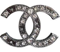 Brosche Metall Metallic