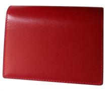 Second Hand wallet & case, Kleinlederware Leder Rot