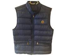 Second Hand Jacke.Blouson Polyester Blau