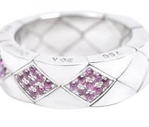Second Hand ChanelMatelassé Silber Ringe
