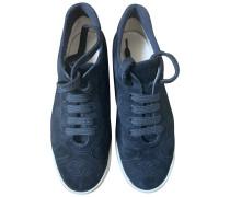Second Hand VINTAGE Chanel Kalbsleder in pony-optik Sneakers