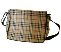Handtasche Leder Beige