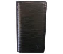Second Hand wallet & case, Kleinlederware Leder Schwarz