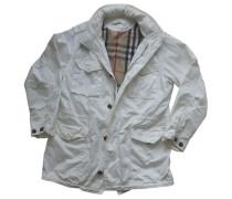 Second Hand Jacke.Blouson Baumwolle Weiß
