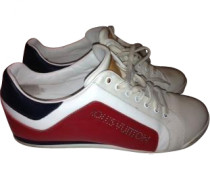 Sneakers Leder Rot