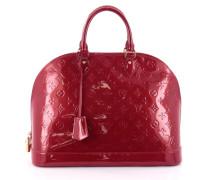 Second Hand Handtasche Leder Rot