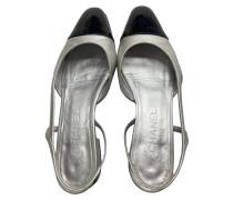 Second Hand ChanelSlingback Leder Ballerinas
