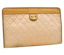 Second Hand VINTAGE Chanel Leder Clutches