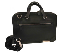 Leder business tasche
