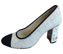 Second Hand ChanelTweed Pumps