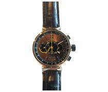 Second Hand Tambour Chronographe Roségold Uhren