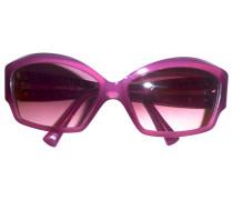 Sonnenbrillen Kunststoff Bordeauxrot