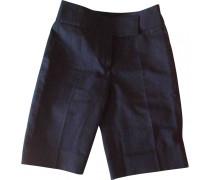 Shorts Baumwolle Marine