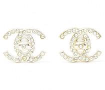 Second Hand VINTAGE Chanel CC ohrringe