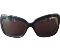 Brille Kunststoff Schwarz