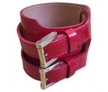 Patent leather bracelet