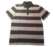 Poloshirt Baumwolle Grau