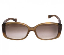 Sonnenbrillen Kunststoff Gold