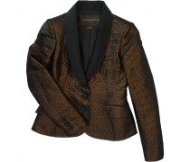 Jacke Synthetik Metallic