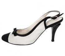 Leder pumps