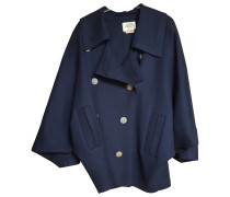 Second Hand Jacke Wolle Blau