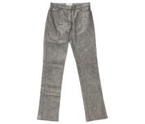 Jeans Baumwolle Grau