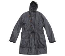 Mantel Polyester Grau