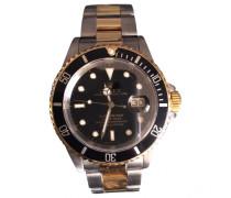 Second Hand Uhr Submariner Date Silber