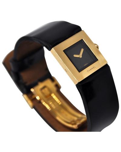 Second Hand Matelassée Gelbgold Uhren