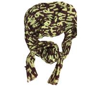 Schal Baumwolle Grün