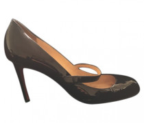 Pumps Lackleder Schwarz