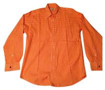 Second Hand Shirt Baumwolle Orange