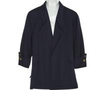 Mantel Baumwolle Blau