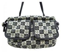 Second Hand VINTAGE Chanel Leinen Handtaschen