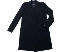 Mantel Wolle Blau