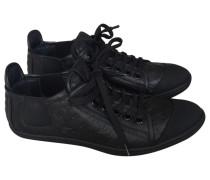 Second Hand Sneakers Leder Schwarz