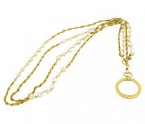 Halskette Metall Golden
