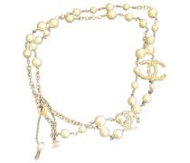 Second Hand ChanelCC Perlen Halsketten