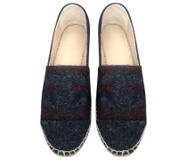 Chanel espadrilles tweed