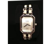 Uhr Première Stahl Weiß